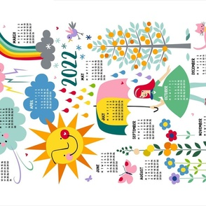 2021 (ENGLISH) Whatever The Weather calendar