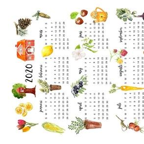Anna's 2020 Tea Towel Calendar
