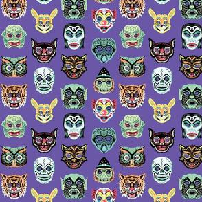 Halloween Masquerade-purple