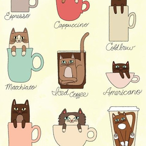 Coffee Cats in Creamy