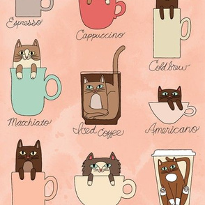 Coffee Cats in Fruity