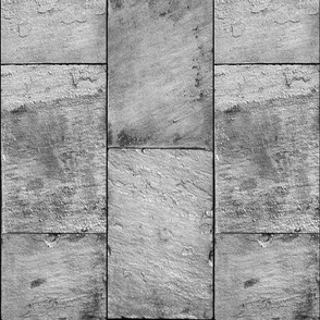 Castle Stone Walls ~ Grey ~ Vertical