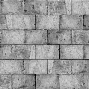 Castle Stone Walls ~ Grey