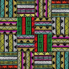 African Stripes / Multi Stripes