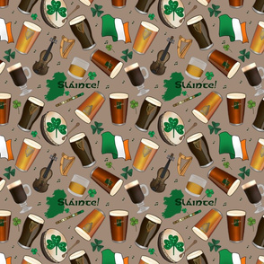 Irish Pub (khaki background)