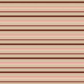 Red Ticking Tea Towel