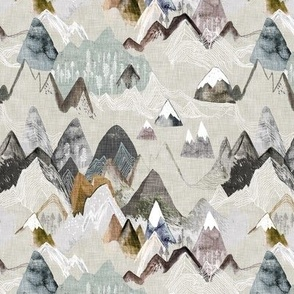 Call of the Mountains (ochre) SML
