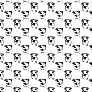 Pit Bull T-Bone Graphic Small
