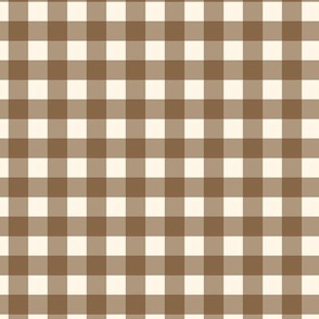 Traditional Classic Check Brown