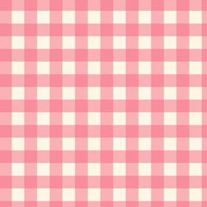 Traditional Classic Check Pink