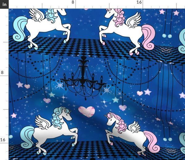 7926396 2 pegasus winged unicorns pegacorns glitter sparkles stars universe galaxy night purple gems jewels by raveneve