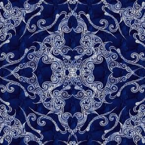 Victorian Era royal blue 1