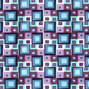 squares blueberry