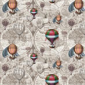 Hot Air Balloons Small pattern