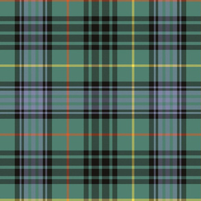 "Stewart hunting tartan - 12"" faded"