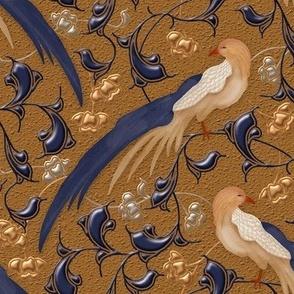 Victorian Vine with Birds