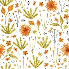Autumn Floral Print