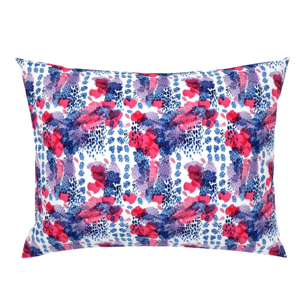 Campine Pillow Sham featuring Raining Berries by nicoletlaursen