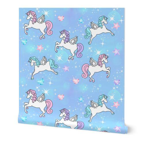 7931019 2 pegasus winged unicorns pegacorns glitter sparkles stars universe galaxy sky purple blue violet pin by raveneve