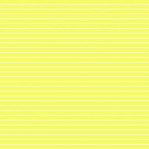 Yellow and white stripe