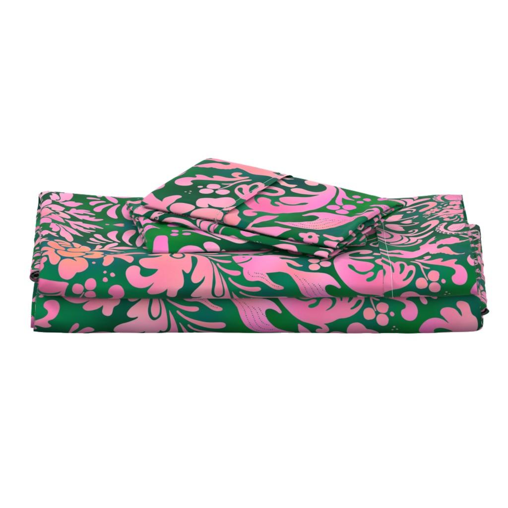 Langshan Full Bed Set featuring Viktorian Odette Lager by odettel