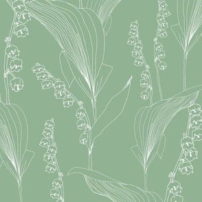 Lily of the Valley Green