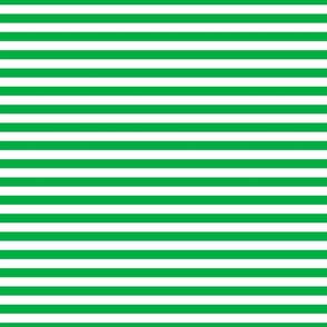 FS Grass Green and White Half Inch Stripes