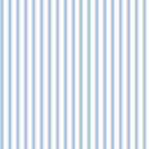 Cedar Lake Cottage Ticking Stripe blueberry VERTICAL