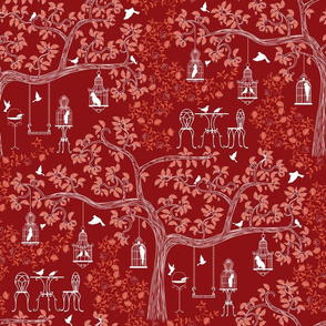 Cornwall's Lost Gardens  (red)