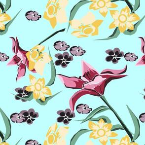lillies blue