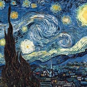 Van Gogh - The Starry Night (1889) (20x24)