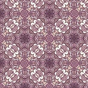 Dark Violet Victorian Decor