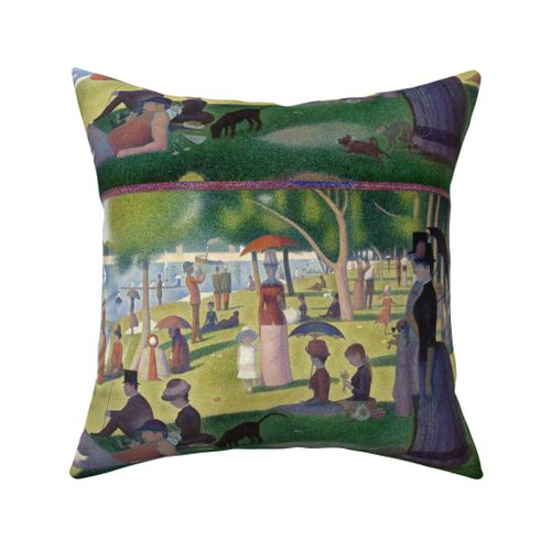 Seurat Sunday Afternoon On The Island Spoonflower