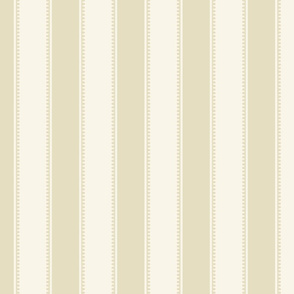 Victorian Stripe - Cream