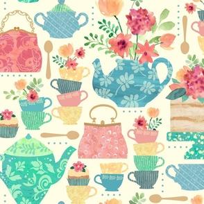 Princess Victoria's Tea Party