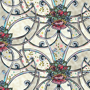 Ornamental and victorian touch