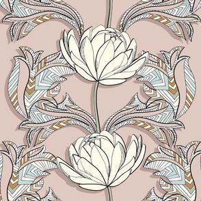 Victorian Boho Lotus