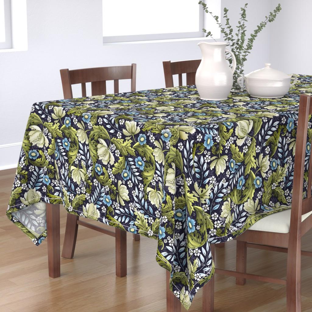 Bantam Rectangular Tablecloth featuring Victorian Era by whimsical_brush