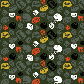 Crazy Ghosts M+M Forest by Friztin
