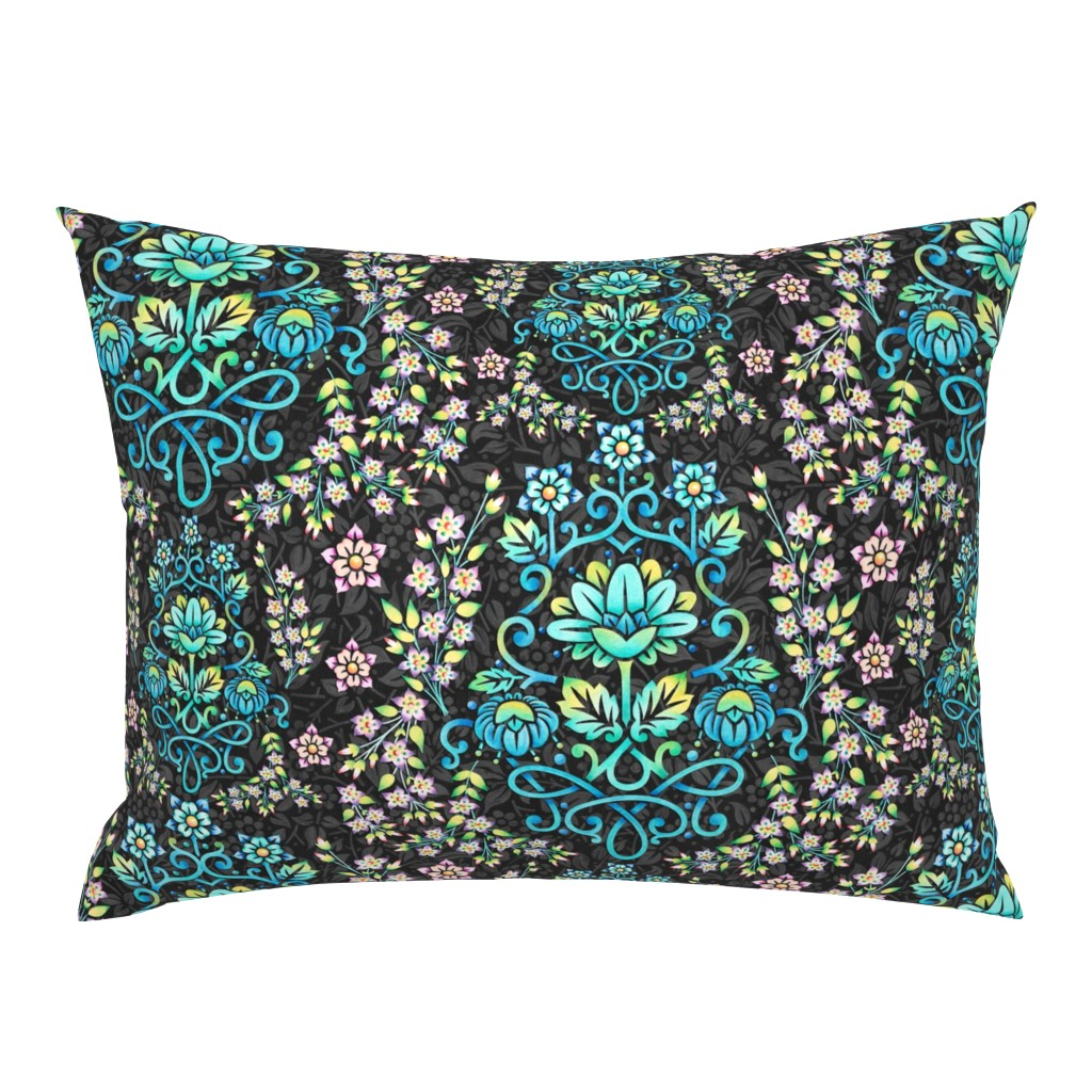 Campine Pillow Sham featuring Nouveau Victoriana by patriciasheadesigns