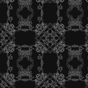 Diamond Skwurl black