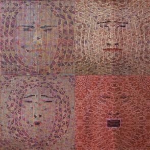 four mosaics