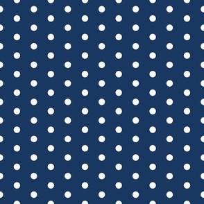 FS Admiral Navy Blue Small Polka Dot