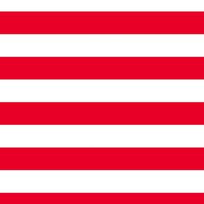 FS Cherry Red Two Inch Stripe