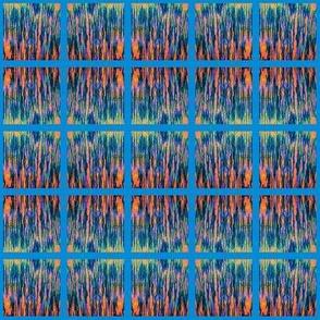 PH_183_B Mango Stems in the Ocean Pink & Blue