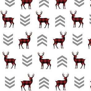 Deer and Chevron Arrows