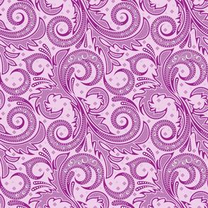 Lilac plant
