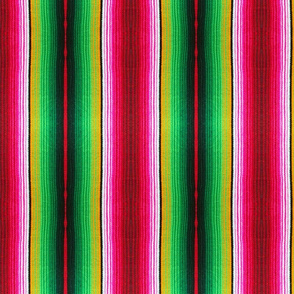 Red and Green Serape