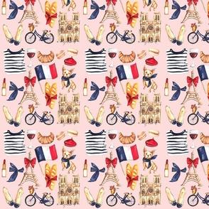 Vive La France! - Pink