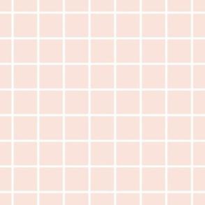 little architect - grid - pink
